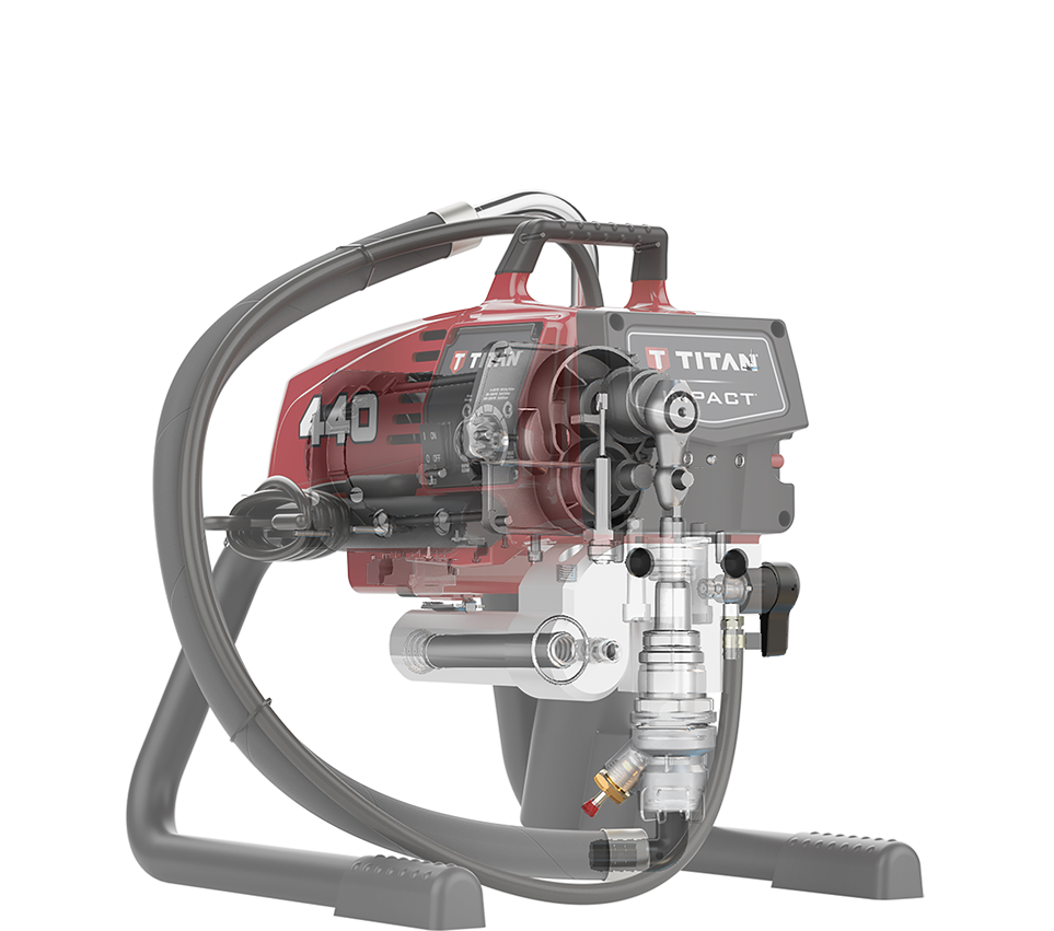 Impact Series - Electric Airless Sprayers - Products
