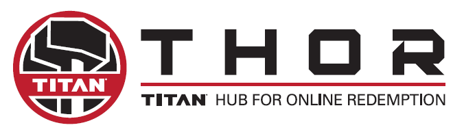 Titan Hub for Online Redemption